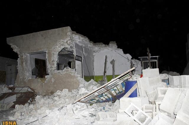 Le 9 avril 2013, un puissant séisme d'une magnitude de 6,3 sur l'échelle de Richter a frappé l'Iran, près de la centrale de Bouchehr