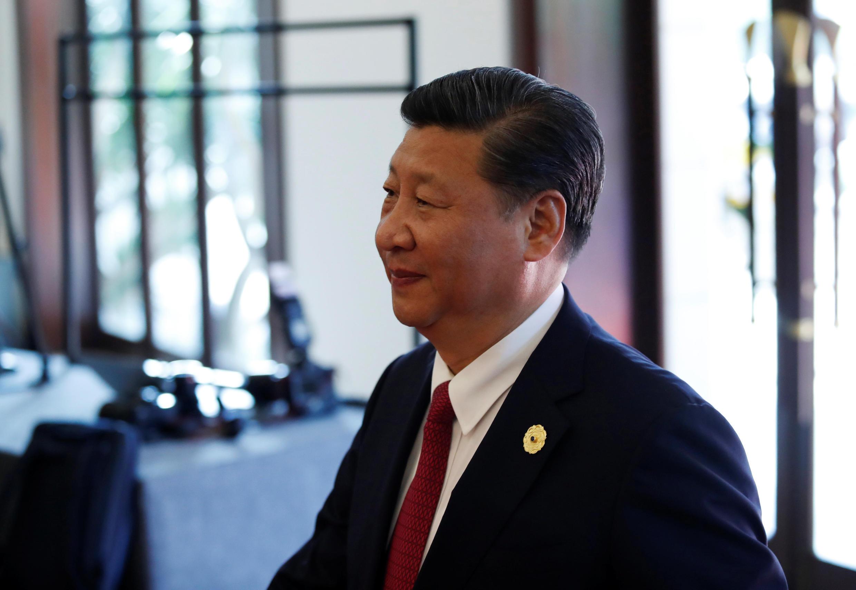 Chủ tịch Trung Quốc Tập Cận Bình đến dự Hội Nghị Thượng Đỉnh Doanh Nghiệp APEC, Đà Nẵng, Việt Nam, ngày 10/11/2017
