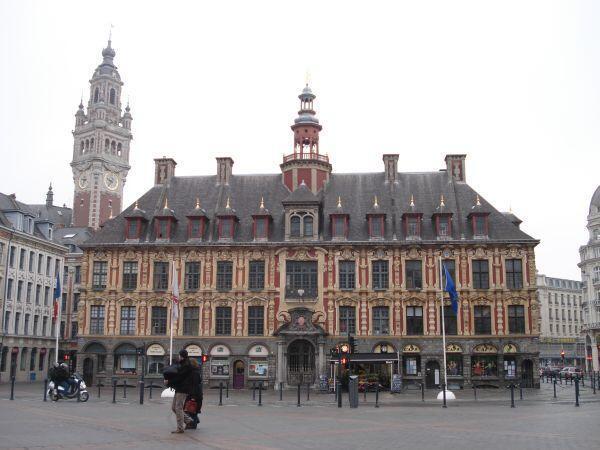 Lille city centre
