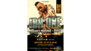 Iba One en concert au Cabaret Sauvage, le 4 novembre 2017.