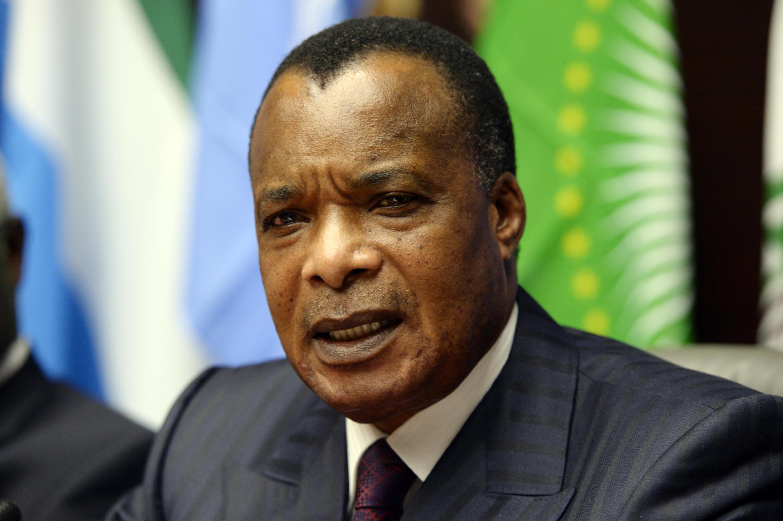 Denis Sassou-Nguesso, ici à Bruxelles le 3 mars 2015, s'est prononcé plusieurs fois en faveur d'une réforme constitutionnelle.