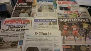 Diários franceses  24/08/2015