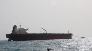 تصویر کشتی هلم که توسط شرکت ملی نفتکش ایران منتشر شده، اما مشخص نیست که این تصویر متعلق به چه زمانیست.