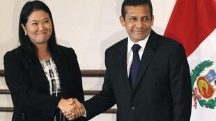 Fujimori felicita a Humala por su victoria.