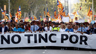 'No tengo miedo', este 26 de agosto de 2017 en Barcelona.