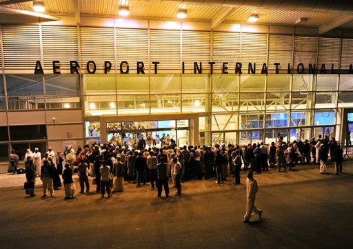 L'aéroport international de Moroni, aux Comores.