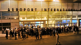 L'aéroport international de Moroni, aux Comores.