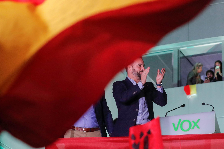 Один из основателей испанской крайне правой партии Vox Сантьяго Абаскаль, 10 ноября 2019 г.