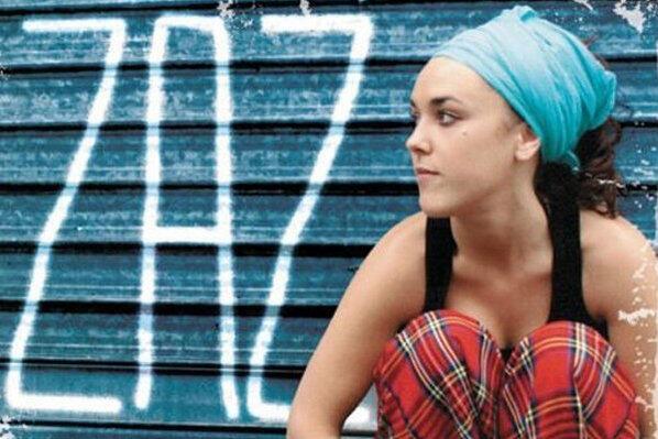 Обложка первого альбома ZAZ - певицы и автора Изабель Жеффруа
