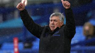 Everton manager Carlo Ancelotti