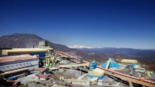 La mine de cuivre d'El Teniente, au Chili, dirigée et détenue par Codelco.