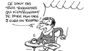Парижане не сдаются: «Нет такого террориста, который помешает мне заплатить 5 евро за кофе на террасе кафе».
