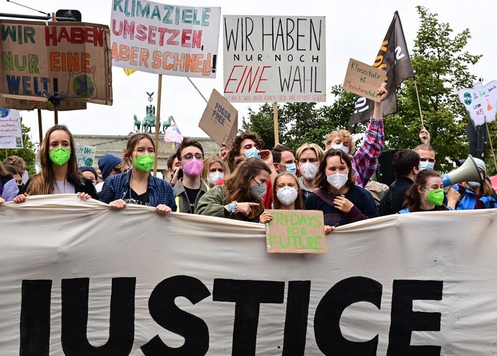 Greta Thunberg Fridays for Future Germany climat