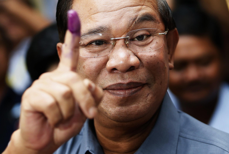 Несменяемый с 1985 года глава правительства Камбоджи Хун Сен