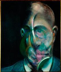 """""""Portrait de Michel Leiris"""" de Francis Bacon (1976)"""