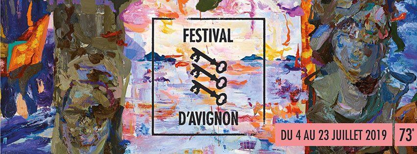 Cartaz do Festival de Avignon 2019