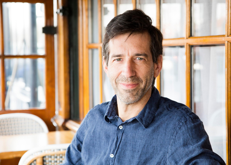 Portrait de l'écrivain Antoine Bello
