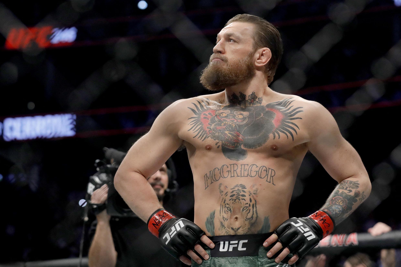 Conor McGregor, lutador irlandês de MMA.