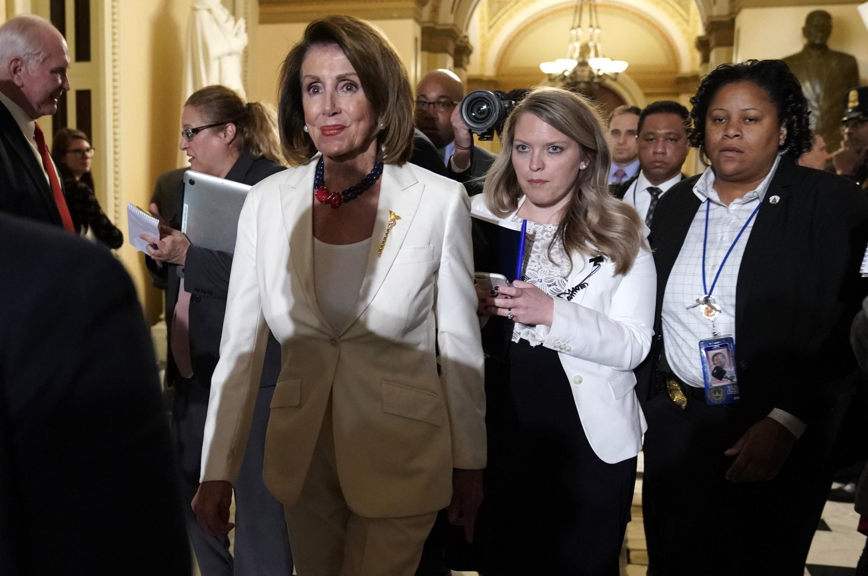 Bà Nancy Pelosi. Ảnh chụp ngày 5/02/2019 tại Quốc Hội, Washington.