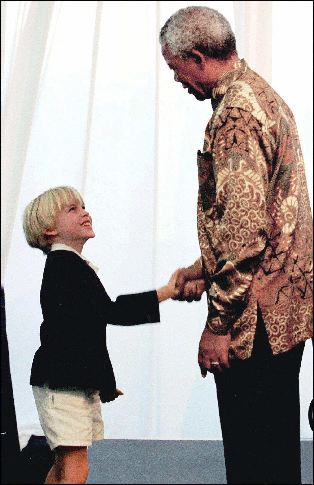 Ronan Farrow Nelson Mandela