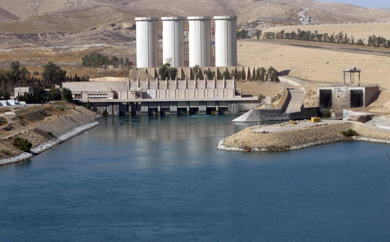Đập thủy điện Mossoul, đập lớn nhất của Irak.