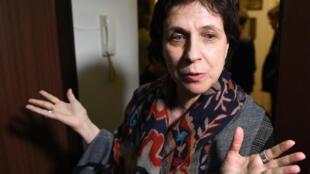 Zoya Svetova, journaliste russe et défenseuse des droits de l'Homme.