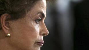 Tổng thống Brazil Dilma Rousseff trước nguy cơ bị phế truất.