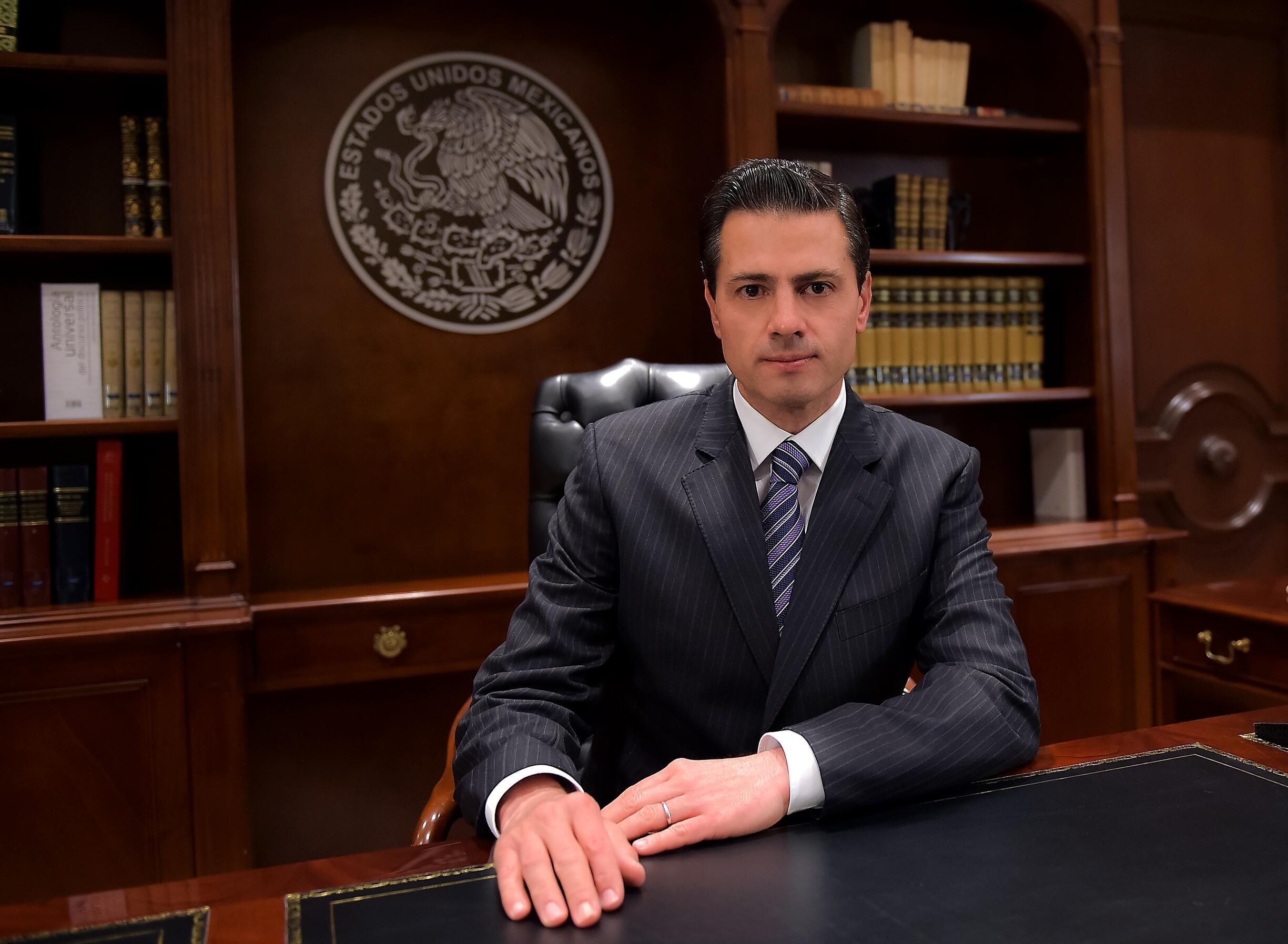 Rais wa Mexico Enrique Pena Nieto asema yuko tayari kutetea haki ya waandishi wa habari na watetezi wa hali za binadam. .