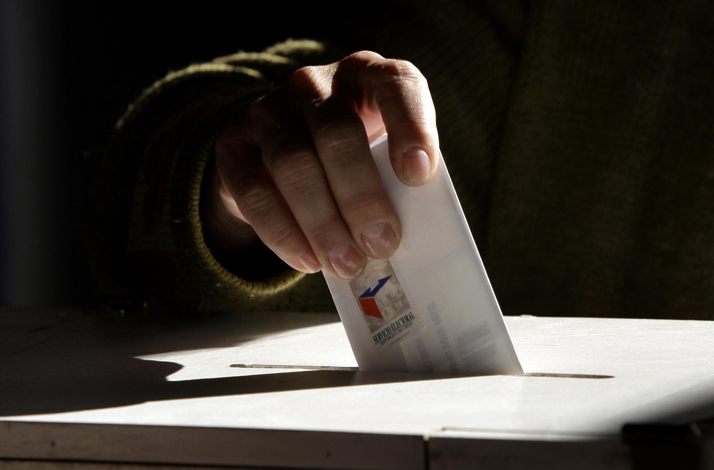 Dans la région de Santiago de Chile, un électeur sur quatre a voté aux élections régionales. (Image d'illustration)