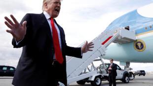 El presidente de Estados Unidos, Donald Trump, en  Palm Beach el 24 de marzo de 2019.