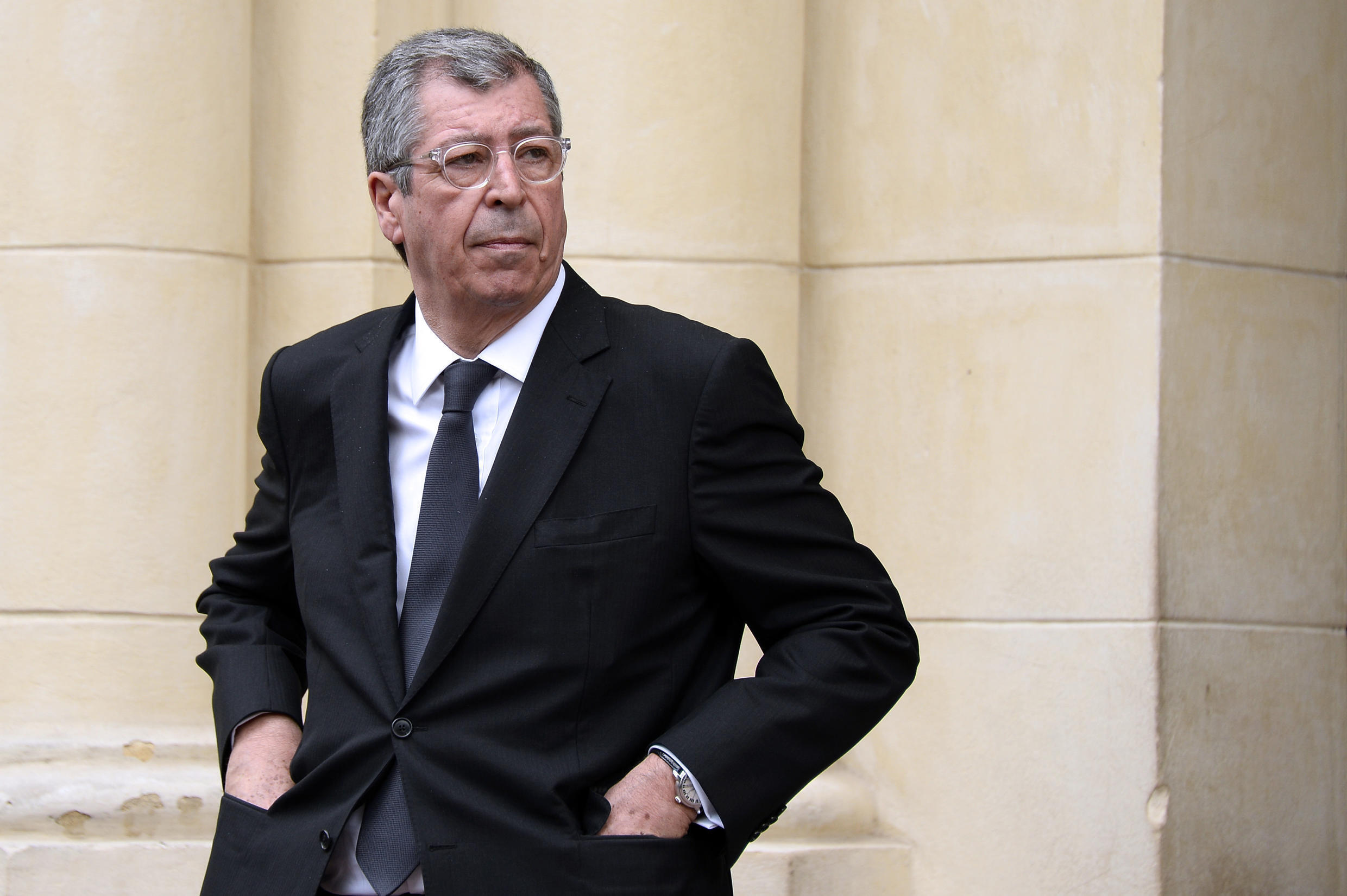Patrick Balkany before his legal marathon and imprisonment on fraud and money-laundering charges.