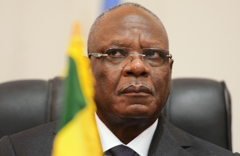 Rais wa Mali, Ibrahim Boubacar Keïta.