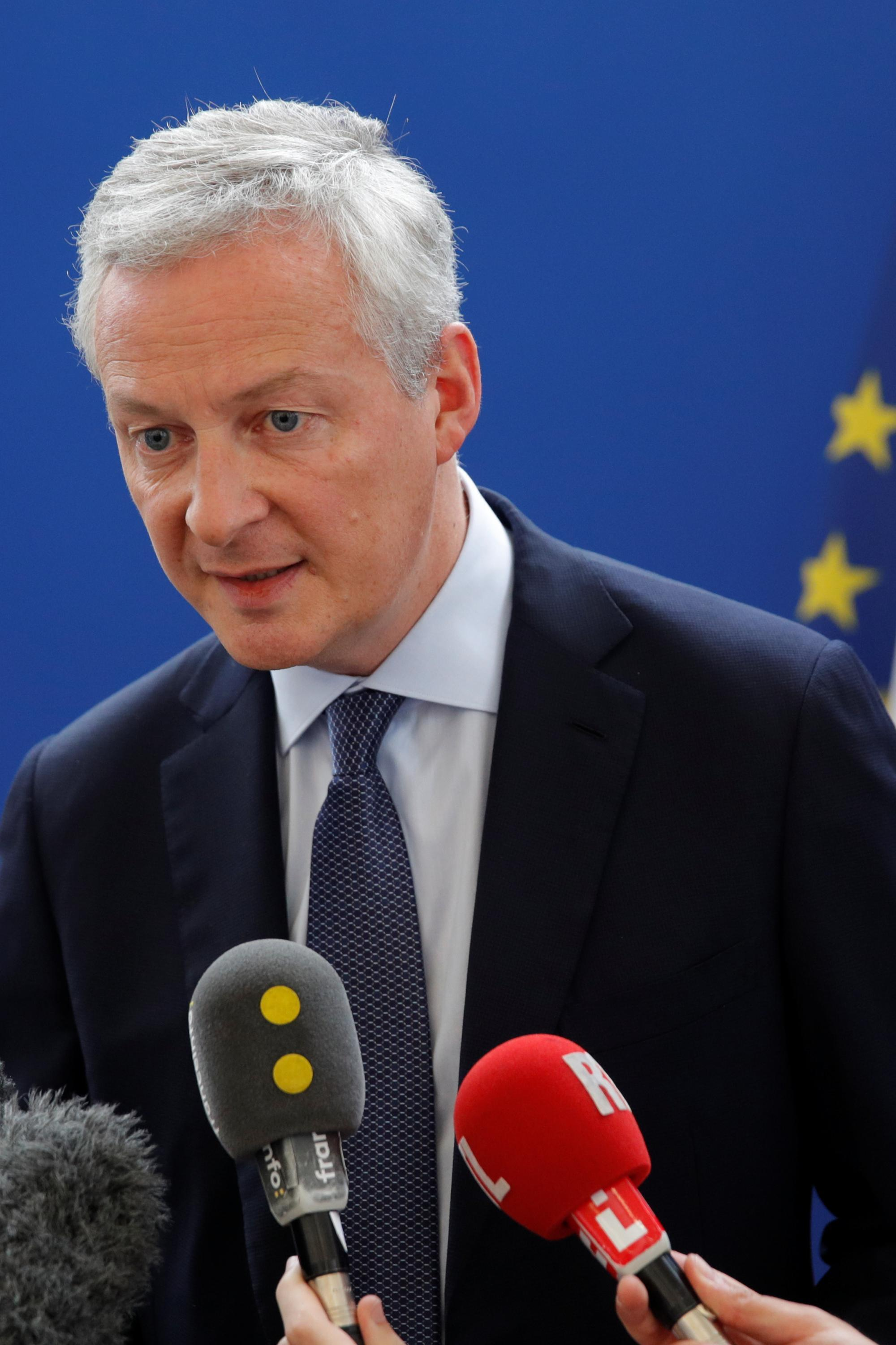 French finance minister Bruno Le Maire says he does not want a trade war with the US over the plan to tax the big American tech firms.
