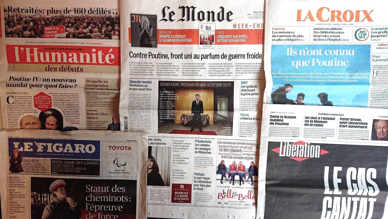 Revista de Imprensa francesa desta sexta-feira 16 de Março.