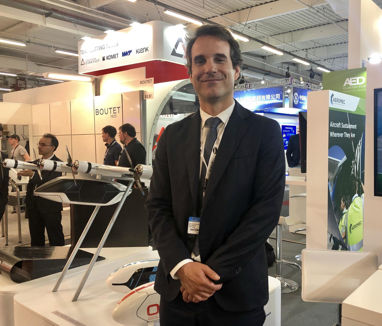 Rui Santos, director-geral da Aeronáutica, Espaço e Defesa Portugal