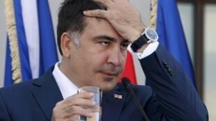 Президент Грузии Михаил Саакашвили 27 июня 2013.
