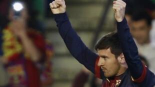 Dan kasar Argentina Lionel Messi da ke taka kwallo a kungiyar Barcelona
