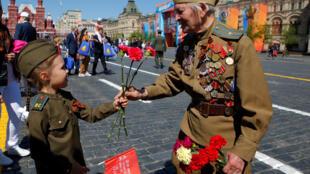 День Победы в Москве, 9 мая 2018.