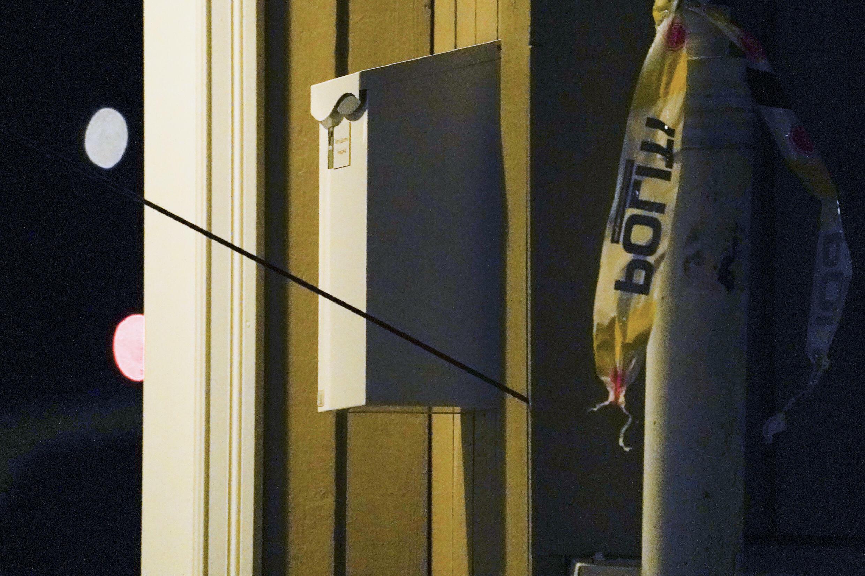 Una de las flechas lanzadas con un arco por un hombre que mató a cinco personas, en Kongsberg, Noruega, el 13 de octubre de 2021