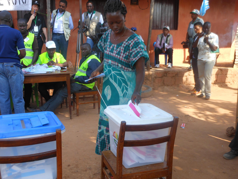 Votação em Bissau