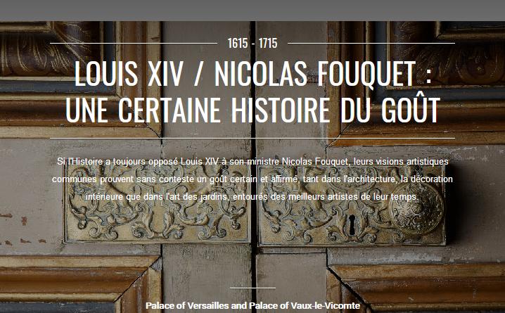 De nombreuses visites et expositions virtuelles vous attendent sur le site du chateau de Versailles et sur ses réseaux sociaux.