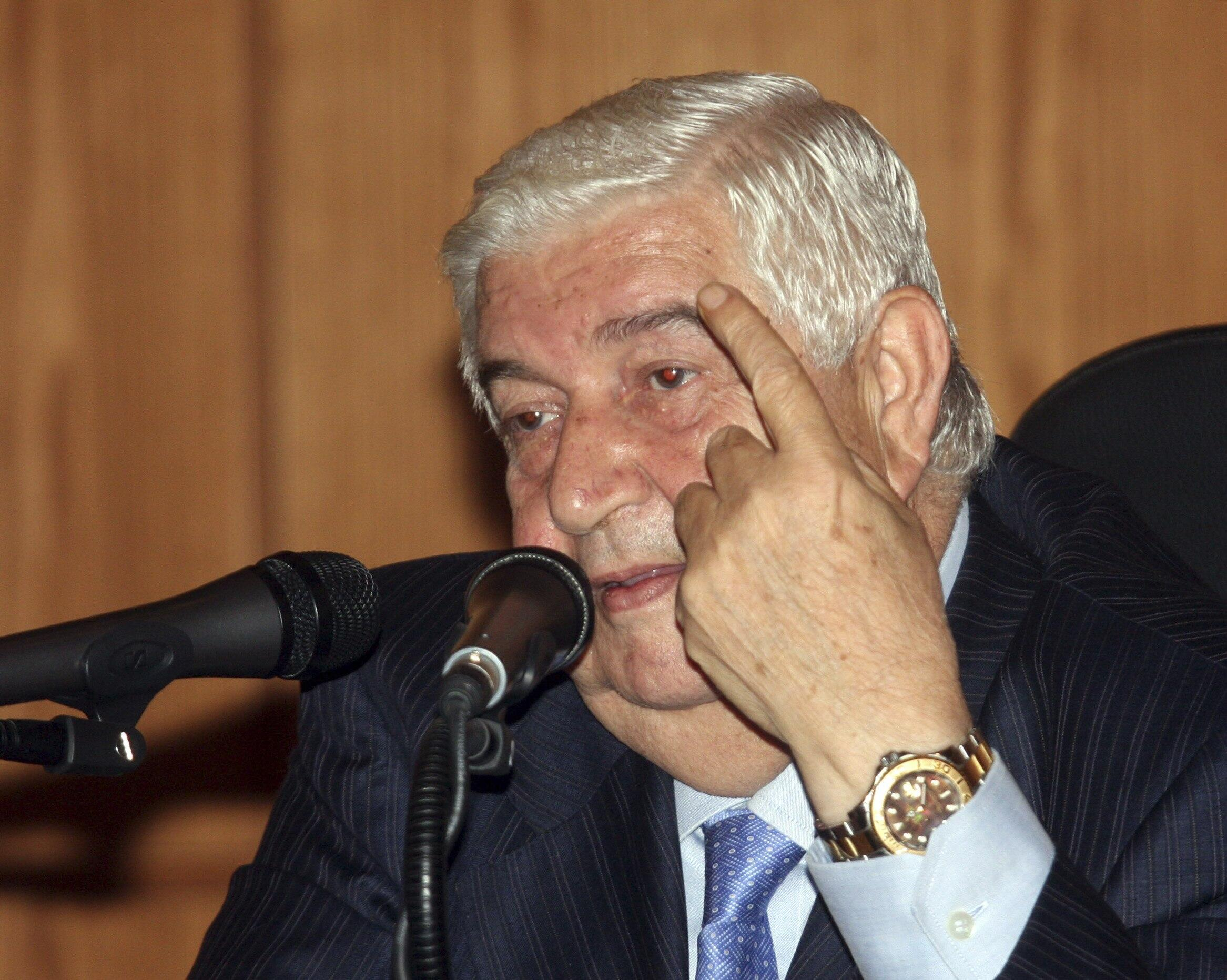 Ministan harkokin wajen Syria Walid Mouallem