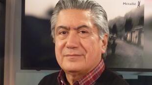 Alfredo Pita en los estudios de RFI