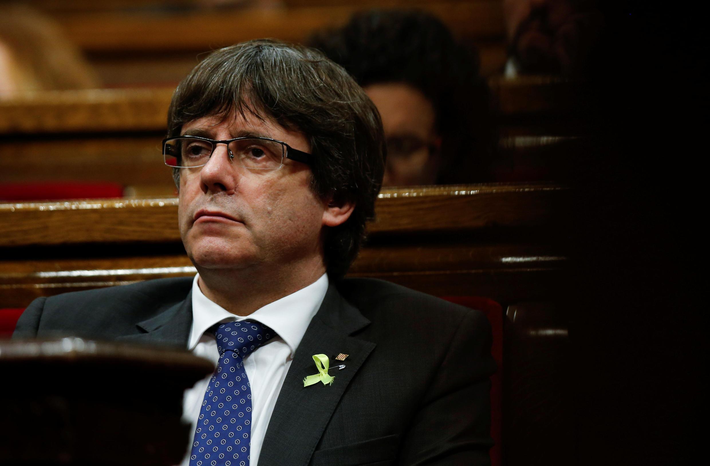 Отстраненный от власти Карлес Пучдемон призвал к «демократическому сопротивлению» действиям Мадрида