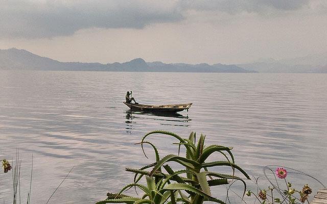 Une pirogue sur le lac Kivu, en RDC. (Photo d'illustration)