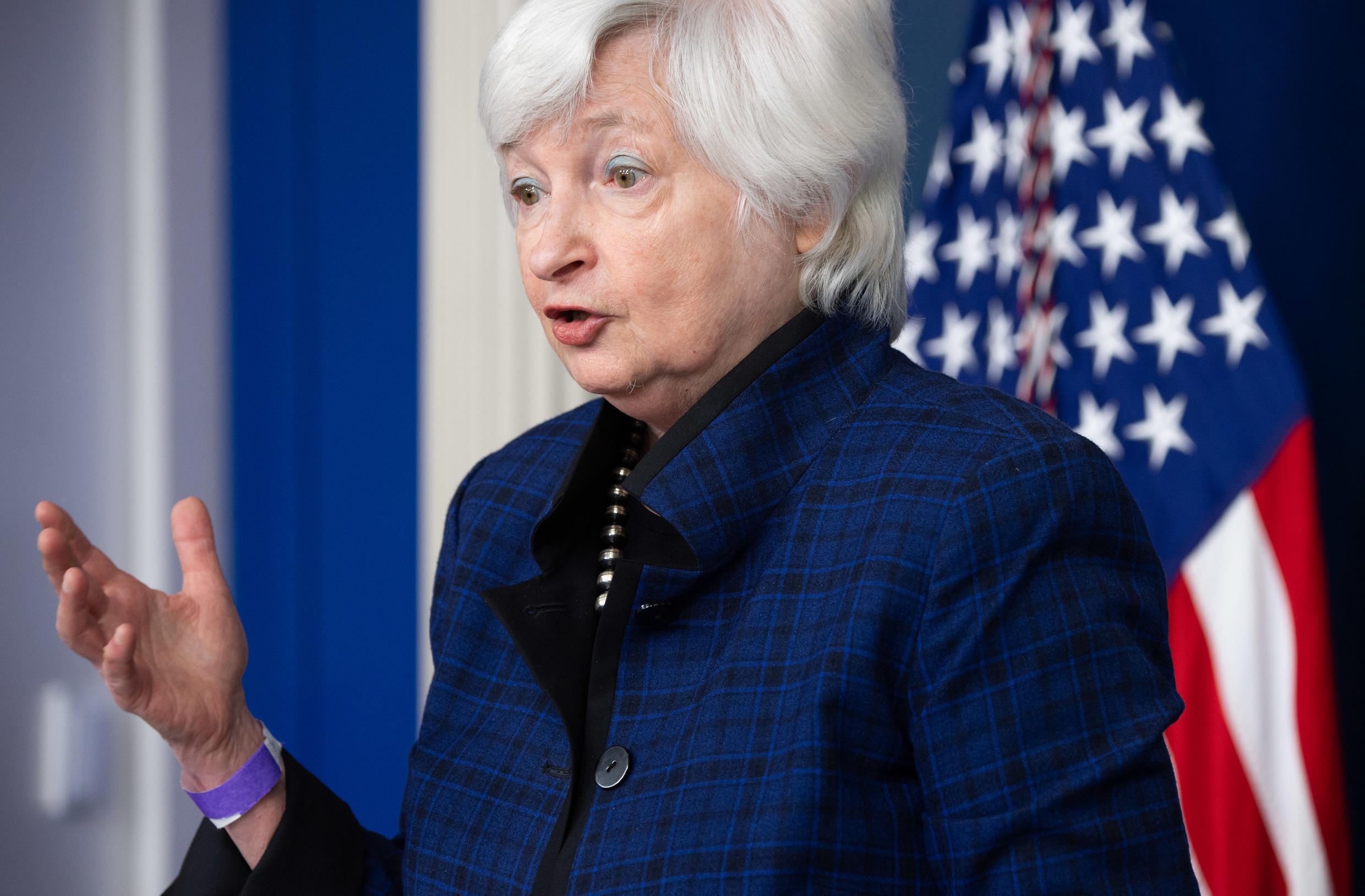 US Treasury Secretary Janet Yellen said aid to state and local governments corrects the policy mistakes made following the 2008 global financial crisis