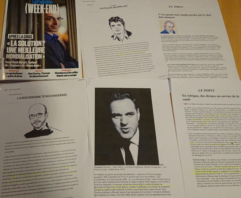 Páginas de semanários 09 05 2020