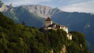 Château de Vaduz, principauté du Liechtenstein.