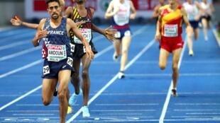 Французский легкоатлет Морхад Амдуни одержал победу на дистанции 10 000 метров на чемпионате Европы. Он стал первым в истории дисциплины чемпионом из Франции.