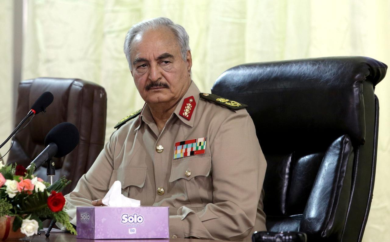 Mbabe wa kivita nchini Libya, Khalifa Haftar